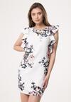Biała Sukienka Glare