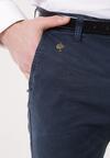 Granatowe Spodnie Beau