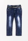 Niebieskie Spodnie Get-Up-And-Go