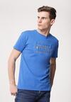 Niebieska Koszulka With All My Heart