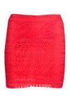 Czerwona Spódnica Easygoing
