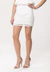 Biała Spódnica Overelaborate