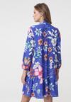 Ciemnoniebieska Sukienka Logout