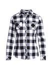 Czarno-Biała Koszula Half Asleep