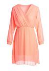 Pomarańczowa Sukienka Lock It