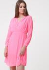 Różowa Sukienka Lock It