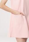 Jasnoróżowa Sukienka Condensed