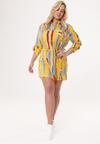 Żółta Sukienka Sizing Up