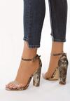 Beżowe Sandały Slumber