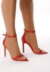 Czerwone Sandały Analytical