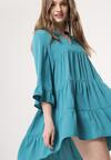 Niebieska Sukienka Chaste
