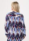 Granatowo-Niebieska Koszula Want To