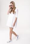 Biała Sukienka Like Fully