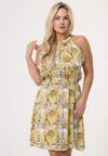 Żółta Sukienka Calm As