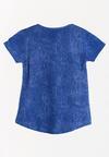Niebieska Koszulka Swingarm