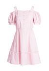Różowa Sukienka Cool As