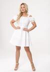 Biała Sukienka Cool As
