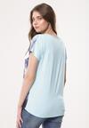 Niebieska Bluzka Perspicuity