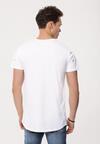 Biała Koszulka Cut Off