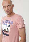 Różowa Koszulka Steer