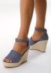 Niebieskie Sandały Leaving