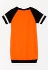 Pomarańczowa Sukienka Competences