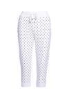 Białe Spodnie Dresowe Craftmaster