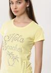 Żółty T-shirt Win Bet