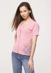Różowa Bluzka Seriousness