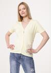 Żółta Bluzka Seriousness