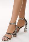 Wężowe Sandały Caddish