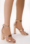 Szampańskie Sandały Caddish