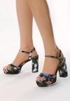 Czarne Sandały High Handed