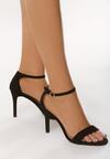 Czarne Sandały Archaism