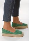 Zielone Espadryle Self Important