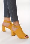 Żółte Sandały Careerist