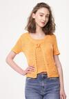 Pomarańczowa Bluzka Enhanced