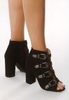 Czarne Sandały Kalki