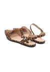 Panterkowe Sandały Crackles
