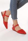 Czerwone Sandały Crackles