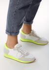 Biało-Żółte Buty Sportowe Furious