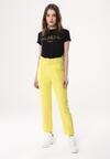 Żółte Spodnie Graceful