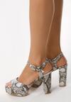 Wężowe Sandały Summer Balance