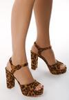 Panterkowe Sandały Summer Balance