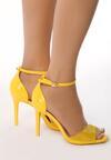 Żółte Sandały Blissful Blossoms