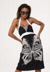 Czarno-Biała Sukienka Supposed
