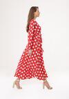 Czerwona Sukienka Incisive