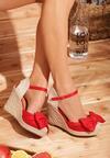 Czerwone Sandały Inspires