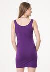 Fioletowa Sukienka Keep Calm