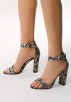 Wężowe Sandały Inspiratory